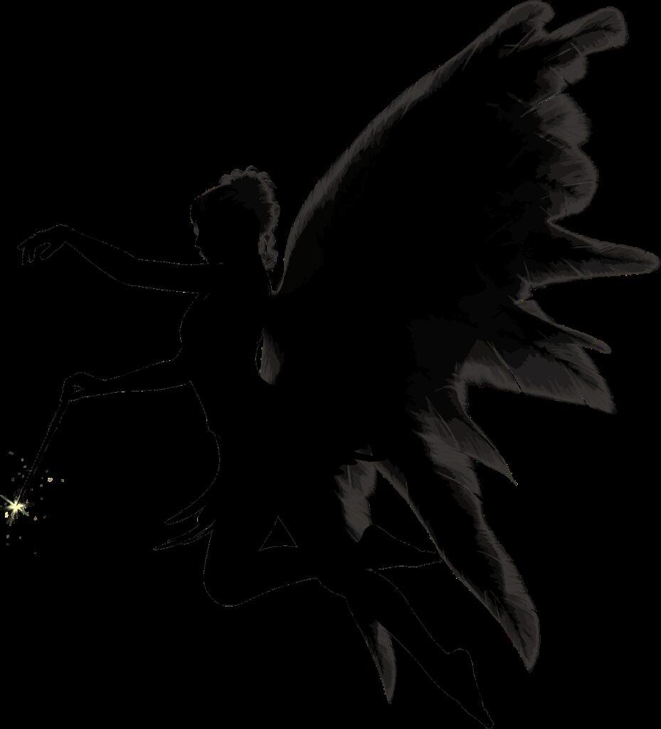angel, feathers, female