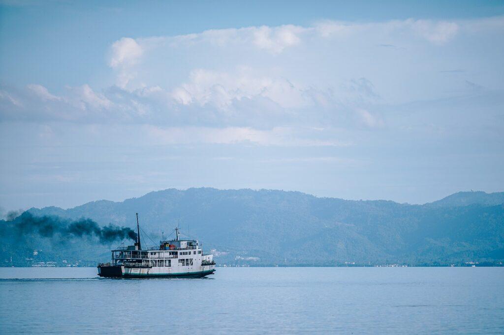 sea, boat, travel