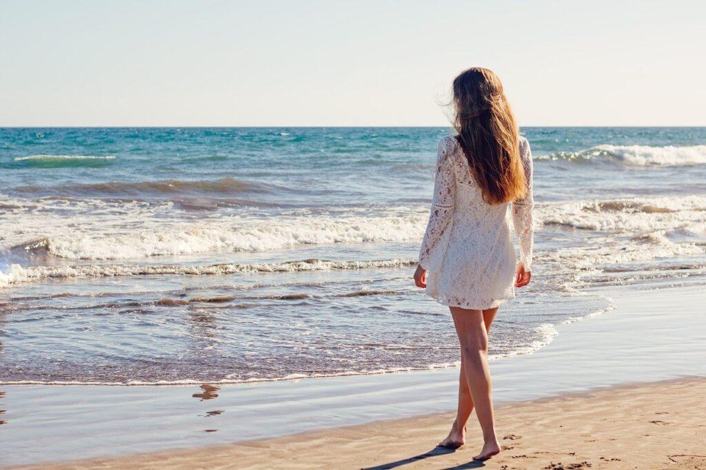 young woman, beach, dress-1745173.jpg