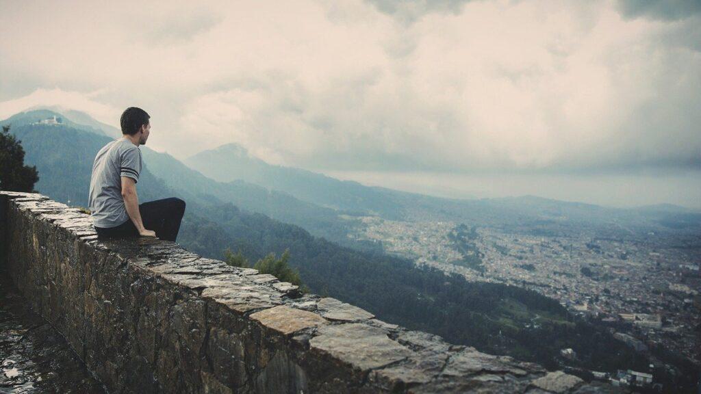 man, sitting, wall-677770.jpg